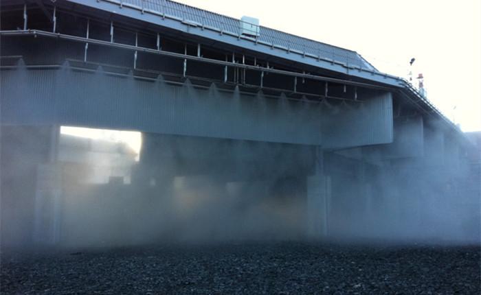 煤厂喷雾降尘系统