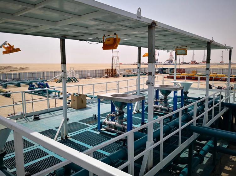 石油设备喷雾冷却降温系统出口科威特国家石油公司