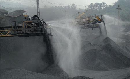 工矿企业喷雾降尘系统