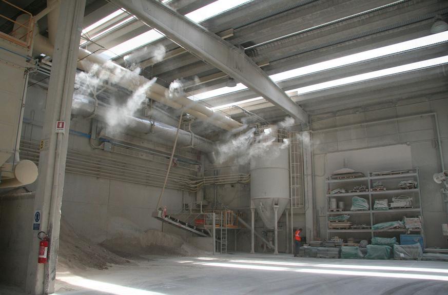 喷雾降尘设备的应用