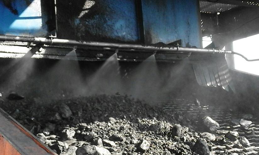 煤矿输送带干雾抑尘系统