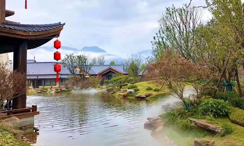 太白山●唐镇景观雾森系统
